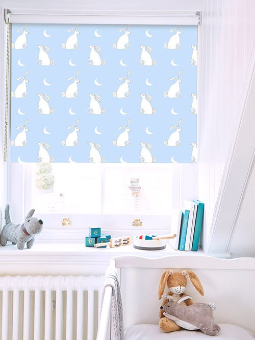 Moongazing on Summer Sky Roller Blind by Amanda Redwin