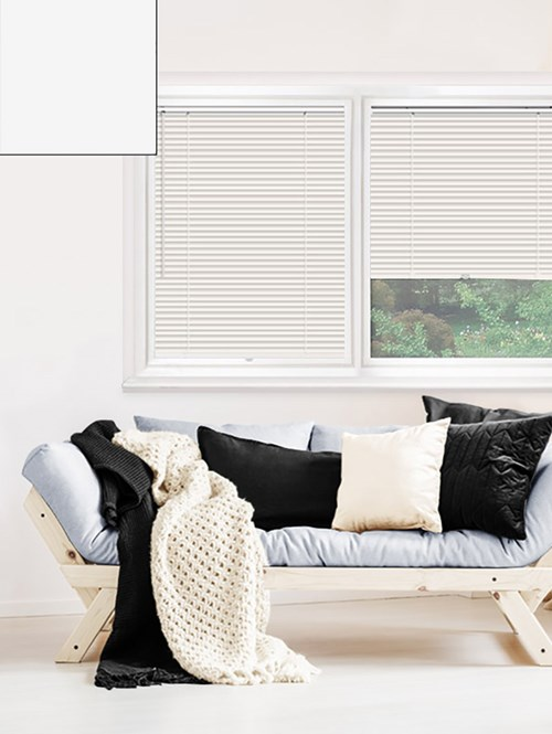 Matte Off White 25mm Perfect Fit Venetian Blind
