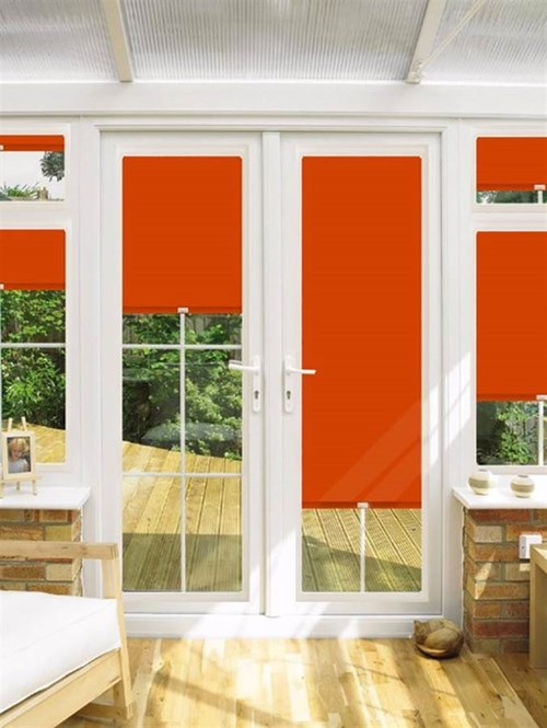 Blackout Canyon Perfect Fit Roller Blind for Doors