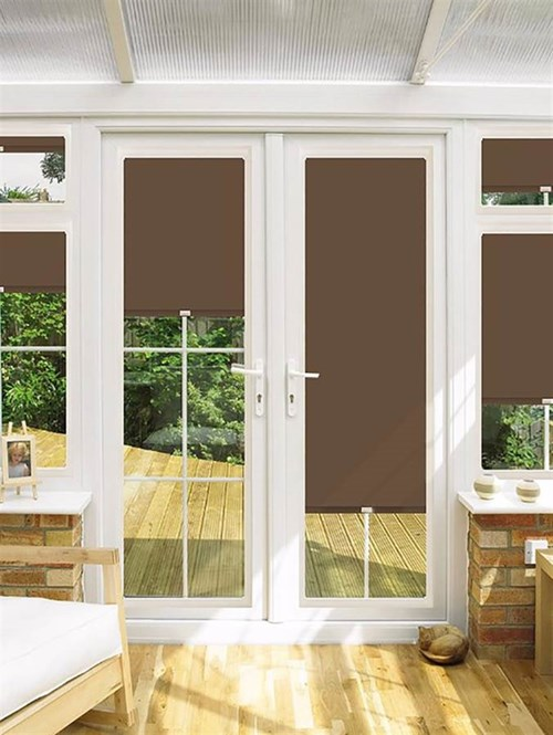 Blackout Sapling Perfect Fit Roller Blind for Doors
