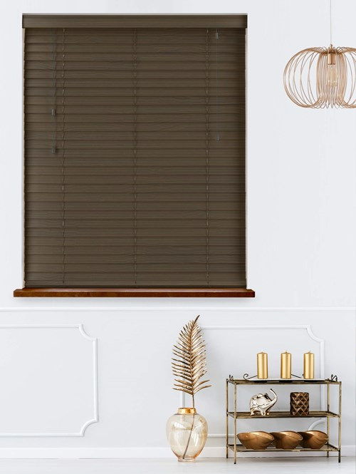 Night Haze Real Wood Venetian Blind