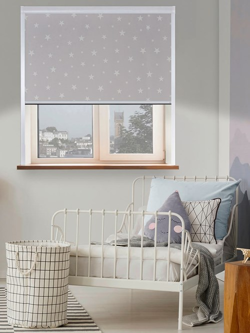 Glow In The Dark Stars Total Blackout Roller Blind