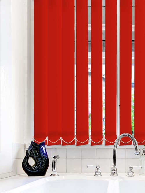 Scarlet Waterproof 89mm Vertical Blind