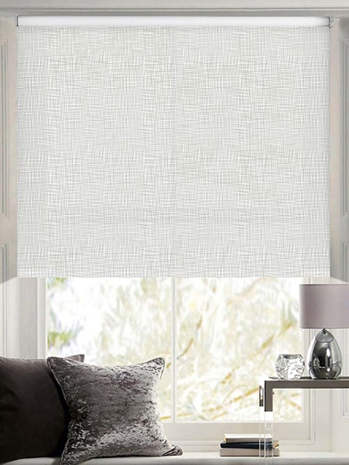 Scribe Patterned Daylight Electric Roller Blind