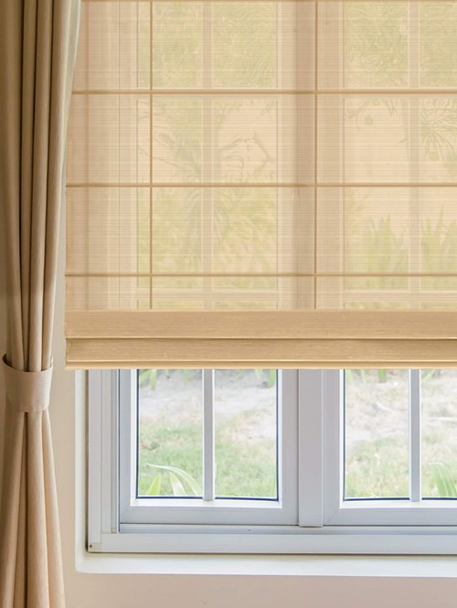 Cookie Electric Sheer Roman Blind