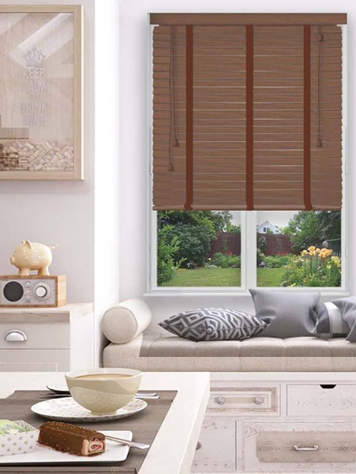 Hot Chestnut Sherwood Premium Venetian Blind With Tapes
