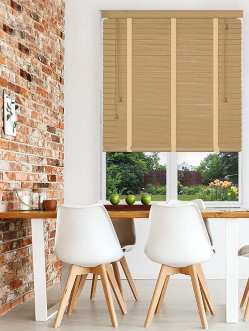 Maple Glow Sherwood Premium Venetian Blind With Tapes