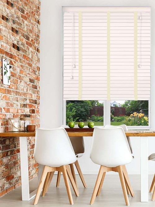 Whitewash Sherwood Premium Venetian Blind With Tapes