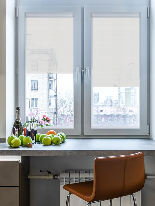 Steel 3% Sunscreen Perfect Fit Roller Blind