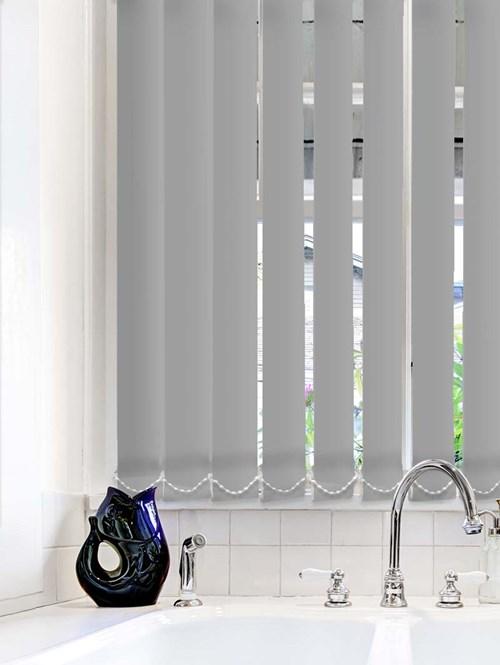 Steel Wool Waterproof 89mm Vertical Blind