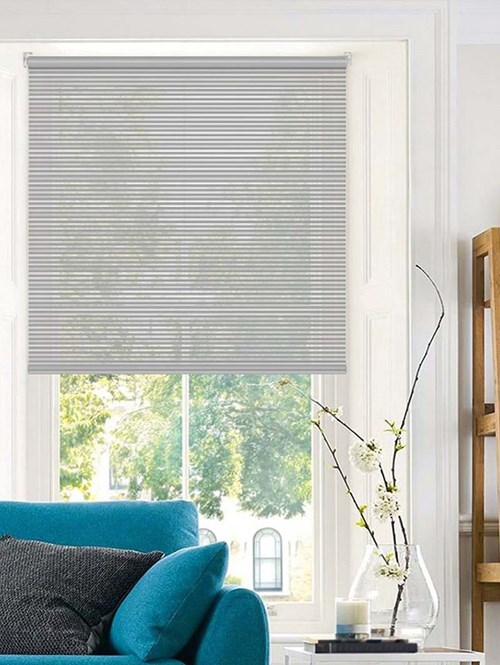 Stratus Grey Sheer Electric Roller Blind