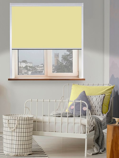 Thermal Plus Duckling Total Blackout Roller Blind