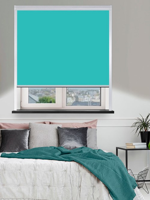 Thermal Plus Aqua Total Blackout Roller Blind