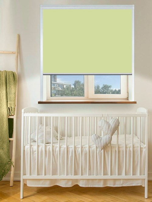 Thermal Plus Grass Total Blackout Roller Blind