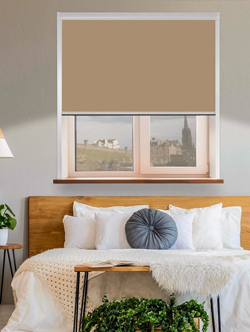 Classic Toffee Crunch Total Blackout Roller Blind