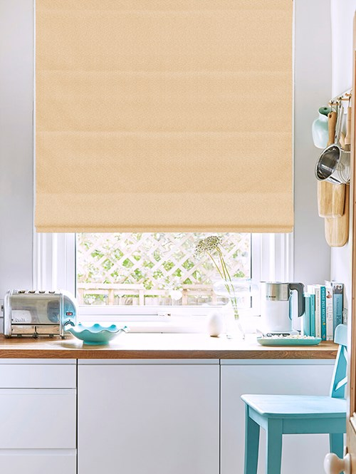 Tribeca Cookie Blackout Electric Roman Blind