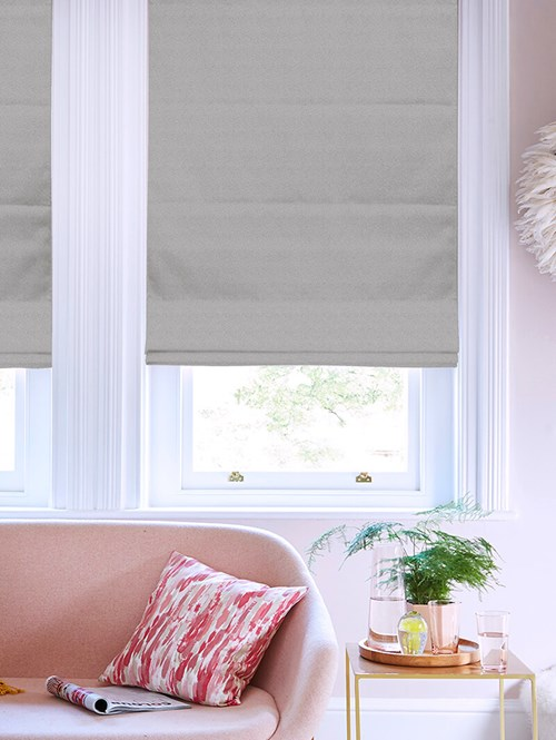 Tribeca Steel Blackout Electric Roman Blind