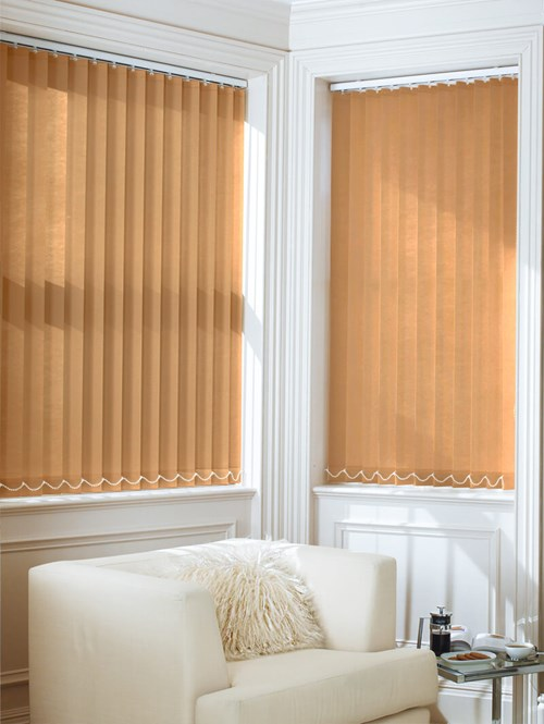 Bronze Daylight 89mm Vertical Blind Replacement Slats