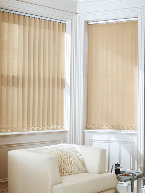 Burmese Daylight 89mm Vertical Blind Replacement Slats