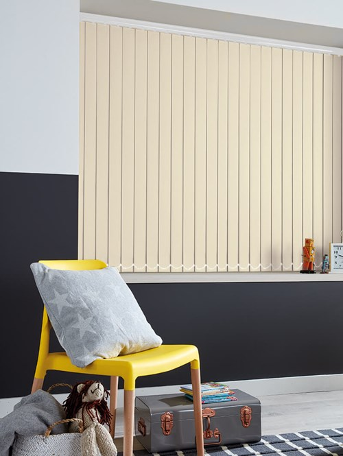 Rainy Day Blackout 89mm Vertical Blind Replacement Slats