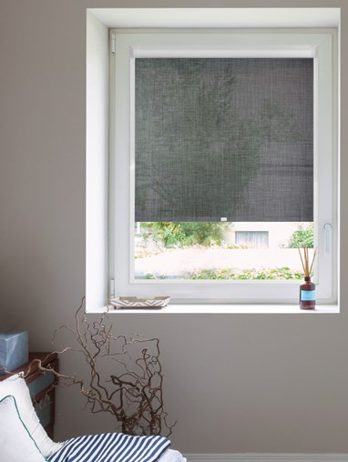 Charcoal Weave 5% Sunscreen Perfect Fit Roller Blind