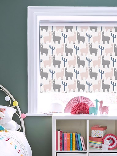 Llamas Blackout Roller Blind