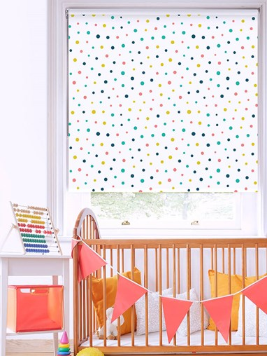 Sprinkles Blackout Roller Blind