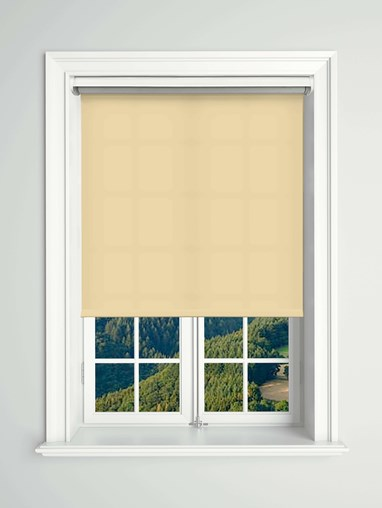 Daylight Nougatine Electric Roller Blind Powered By Solux