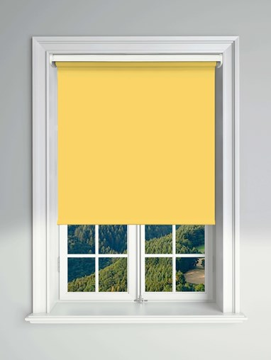 Blackout Sunburst Electric Roller Blind Powered By Solux