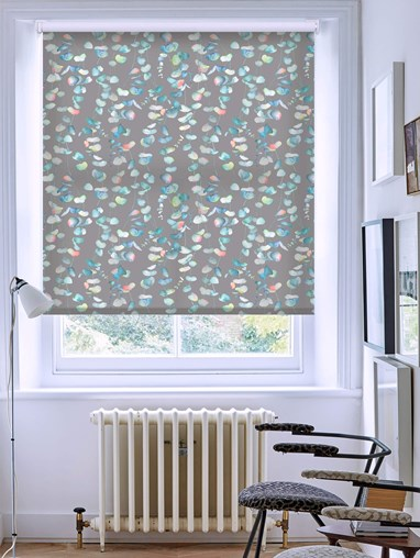 Eucalyptus Stone Patterned Daylight Electric Roller Blind