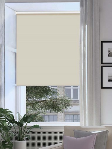 Fawn Extra Large Electric Roller Blind