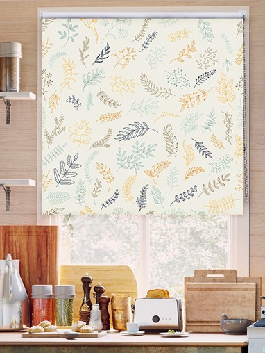 Fern Canvas Roller Blind
