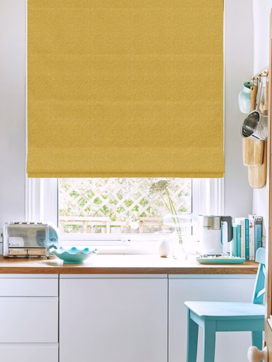 Hampton Dijon Blackout Electric Roman Blind