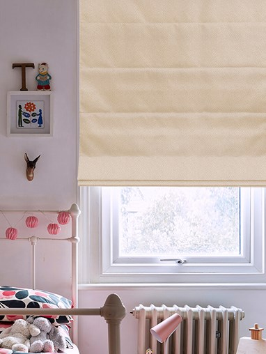 Hampton Parthenon Blackout Electric Roman Blind