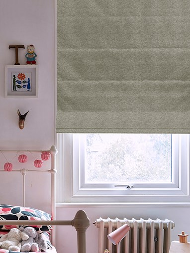 Hampton Rockpool Blackout Electric Roman Blind