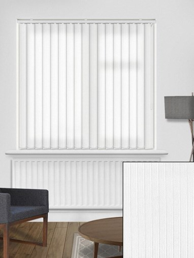 Candy Stripe Frost 89mm Vertical Blind Replacement Slats