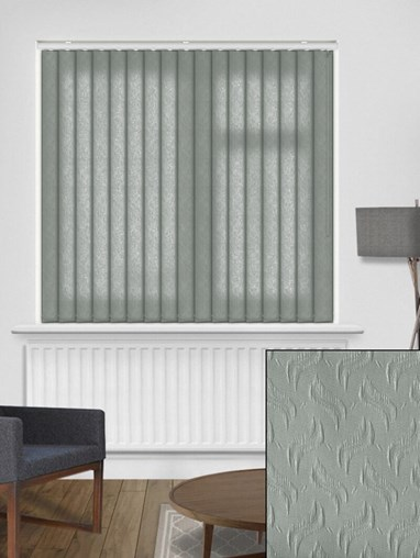 Equi Graphite 89mm Dim-Out Vertical Blind
