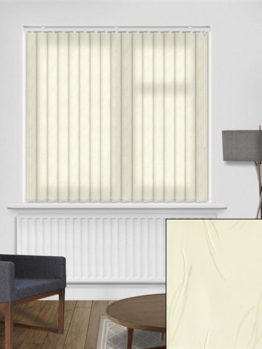 Tangle Cream 89mm Vertical Blind Replacement Slats