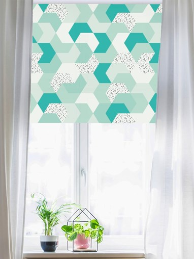 Mint Chip Roller Blind