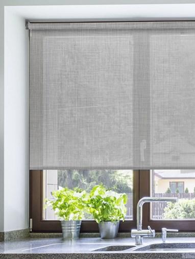 Mist Weave 5% Sunscreen Electric Roller Blind