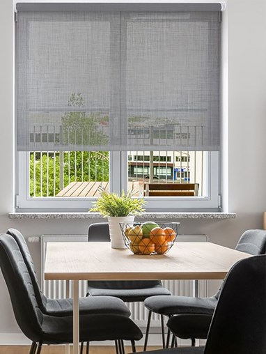 Stone Weave 5% Sunscreen Electric Roller Blind