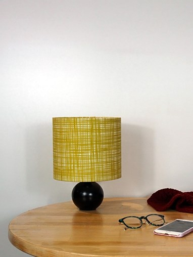 Orla Kiely Scribble Olive Lampshade