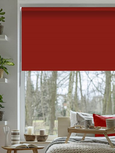 Pepper Blackout Thermal Roller Blind