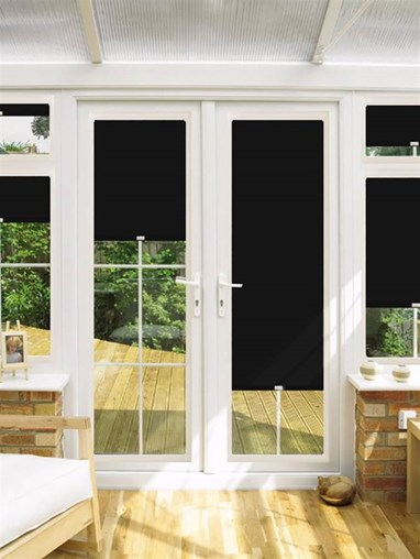 Blackout Emperor Perfect Fit Roller Blind for Doors