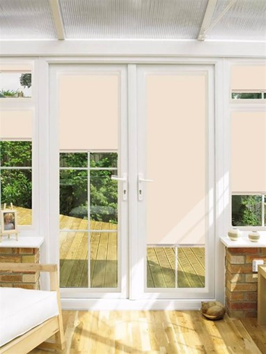 Blackout Buff Perfect Fit Roller Blind for Doors