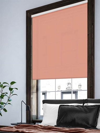 Salmon Extra Large Roller Blind