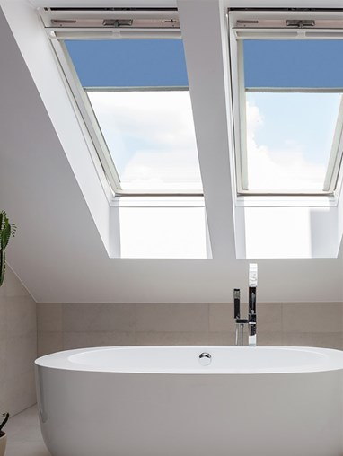Classic Coastal Shores Blackout Skylight Blind To Fit RoofLite Windows