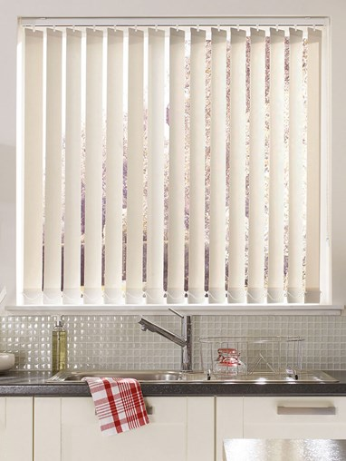 Parchment Daylight 89mm Vertical Blind Replacement Slats
