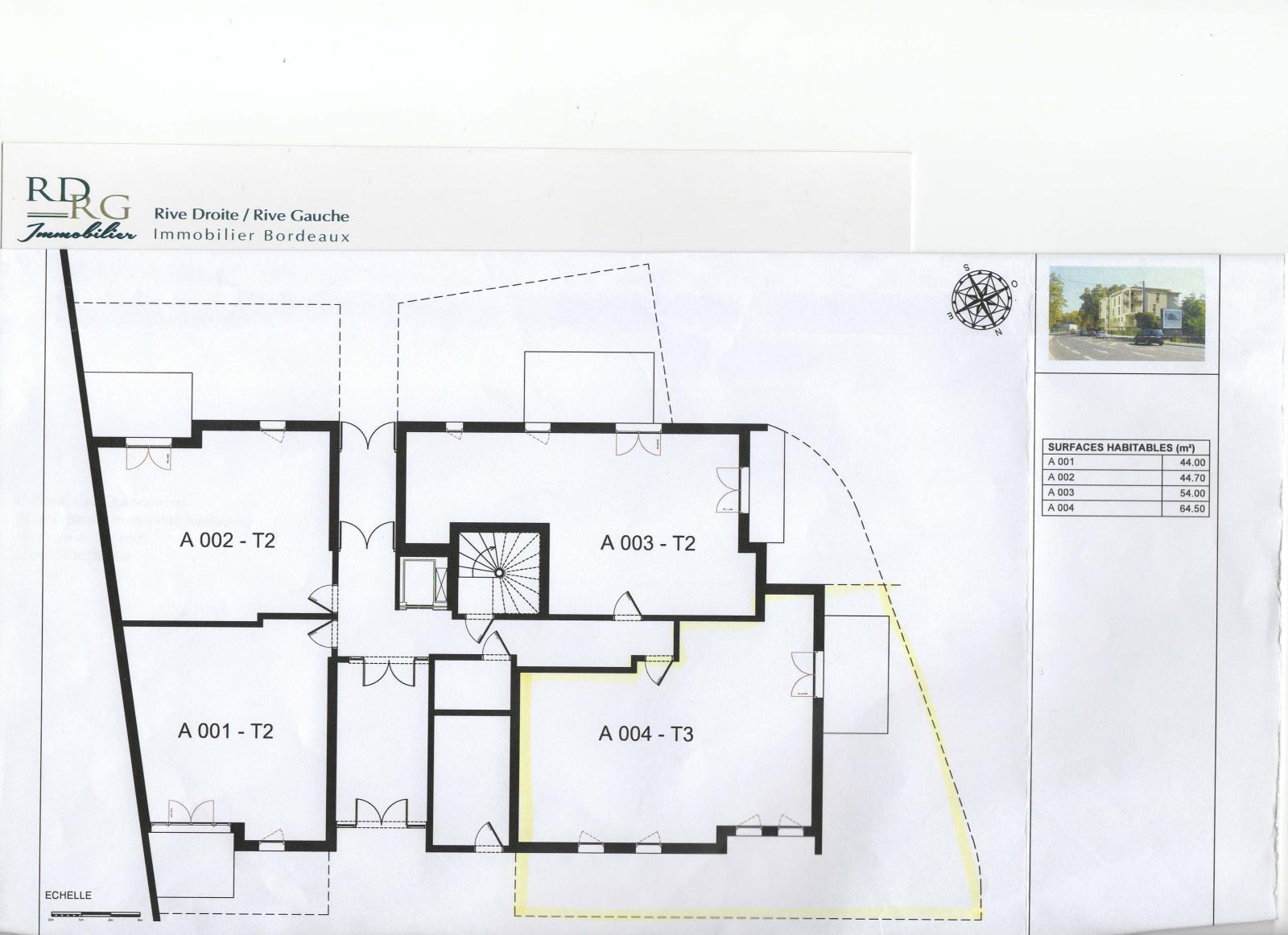 RdRg Immo Bordeaux- T3 terrasse et jardin Caudéran Stéhélin ...