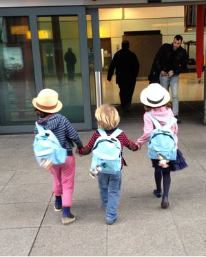 Kids with tailored holiday packs